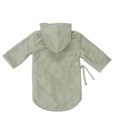Koeka Baby-Bademantel Dijon Leaf Bio-Baumwolle
