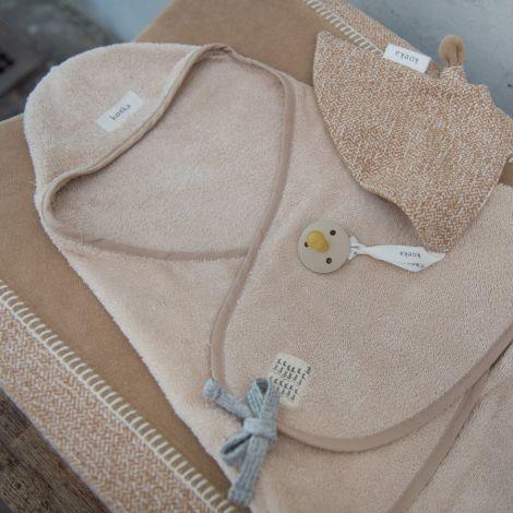 Koeka Badecape Baby Dijon Sand Bio-Baumwolle