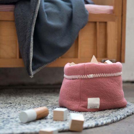 Koeka Aufbewahrungskorb Runa Old Pink