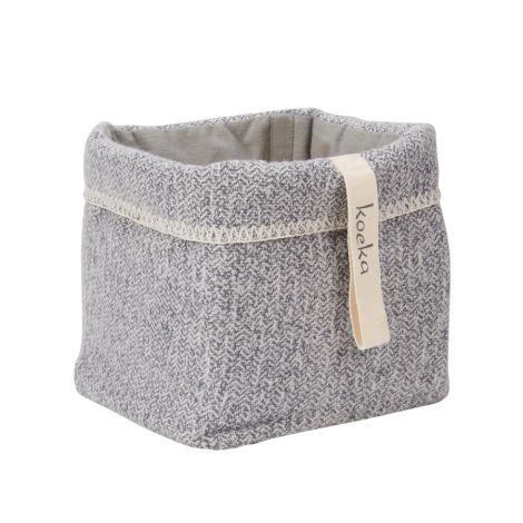 Koeka Aufbewahrungskorb Vigo Sparkle Grey