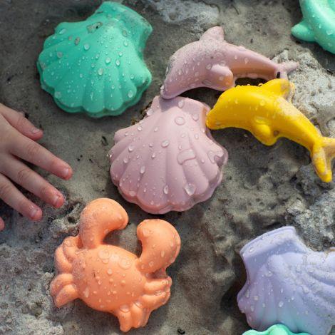 Scrunch Förmchen Coral