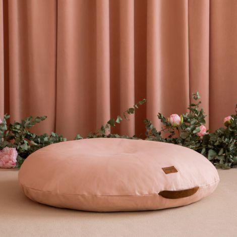Nobodinoz Pouf-Sitzkissen Sahara Bloom Pink