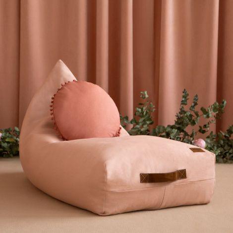 Nobodinoz Sitzsack Oasis Bloom Pink