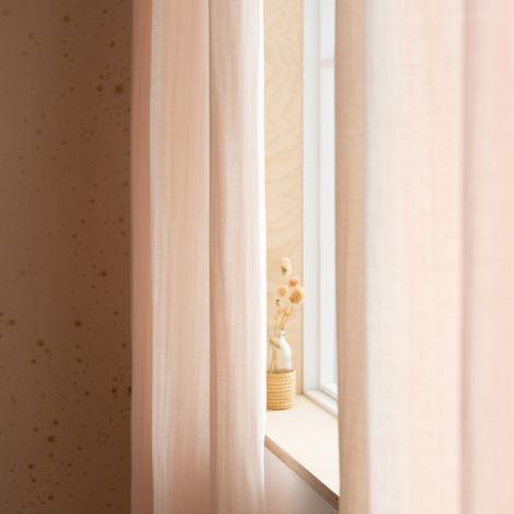 Nobodinoz Vorhang Utopia 146X280 Dream Pink