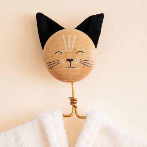 Nobodinoz Wandhaken Cat