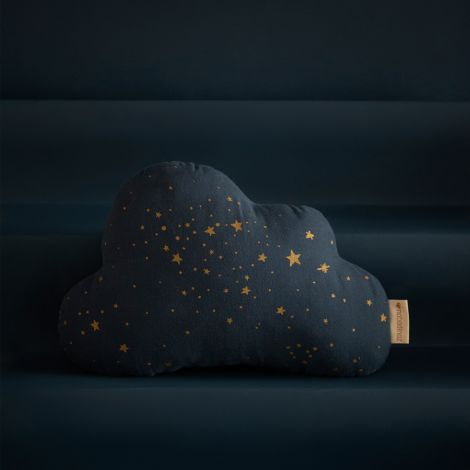 Nobodinoz Kissen Cloud 24X38 Gold Stella / Midnight Blue