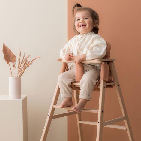 Nobodinoz Kissen für Kinderstuhl Growing Green Sienna Brown