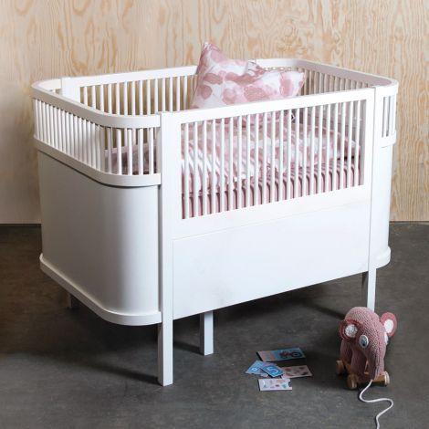 Sebra Bett Baby & Junior Classic White