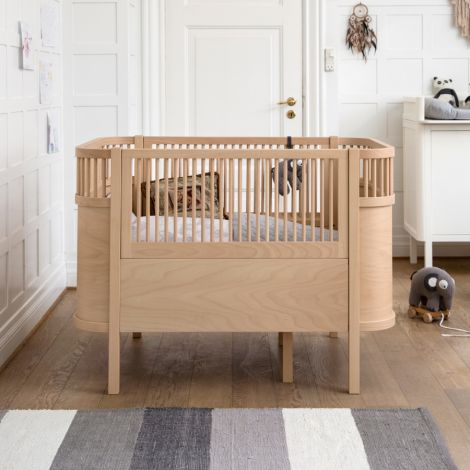 Sebra Bett Baby & Junior Wooden Edition
