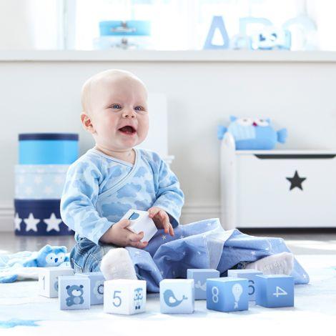 Kids Concept Teppich Abbey Blau