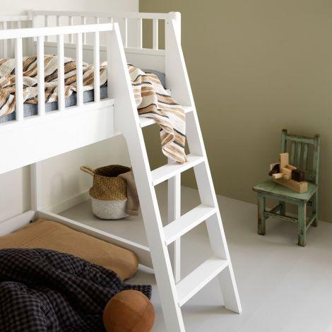 Oliver Furniture halbhohes Hochbett Junior Seaside