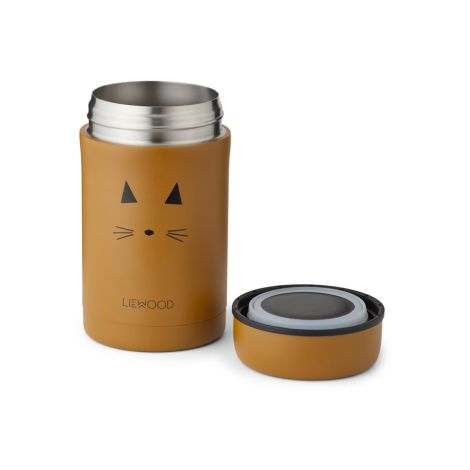 LIEWOOD Thermo-Behälter Bernard Cat Mustard