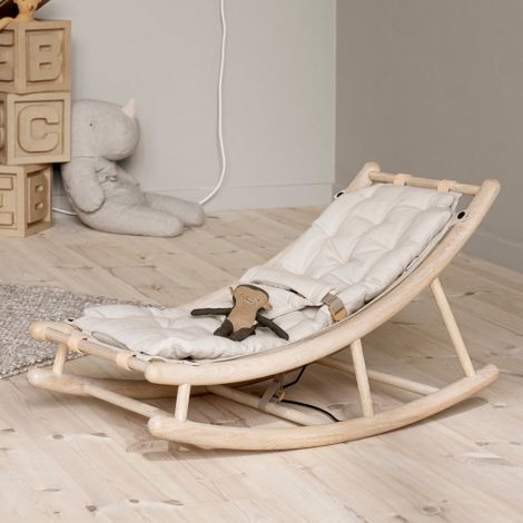 Oliver Furniture Baby- & Kleinkindwippe Wood Eiche/Natur