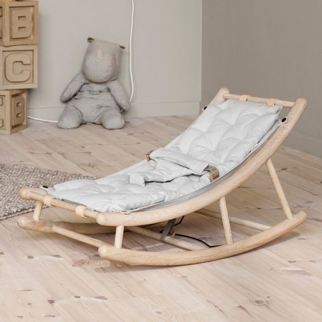 Oliver Furniture Baby- & Kleinkindwippe Wood Eiche/Grau