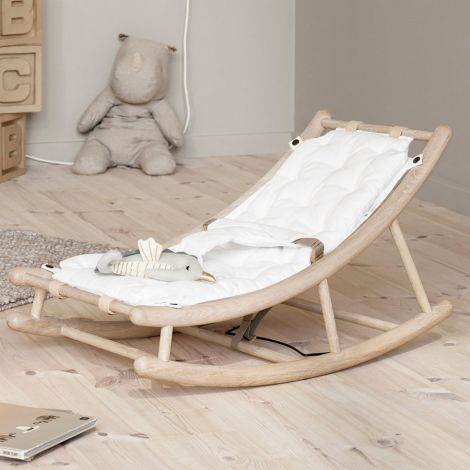 Oliver Furniture Baby- & Kleinkindwippe Wood Eiche/ Weiß