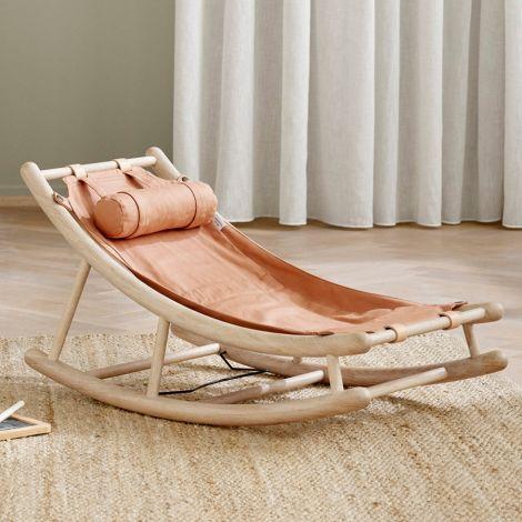 Oliver Furniture Extra Kleinkindsitz für Wood Baby- & Kleinkindwippe Karamell