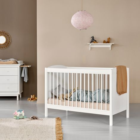 Oliver Furniture Seaside Lille+ Baby- und Kinderbett Basic Weiß