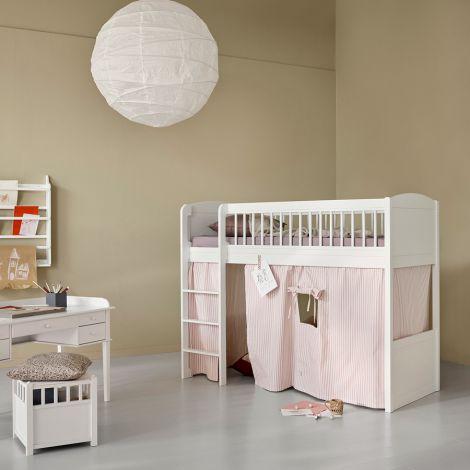 Oliver Furniture Seaside Lille+ halbhohes Hochbett Weiß