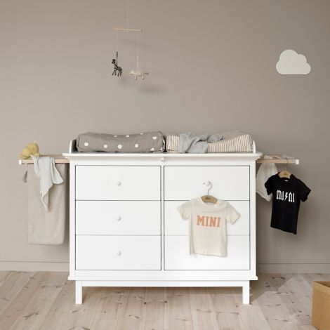 Oliver Furniture Seaside 2 Auszüge und Wäschesack für Kommode 6 Schubladen