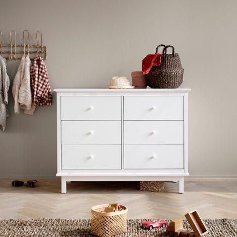 Oliver Furniture Seaside Kommode 6 Schubladen Weiß