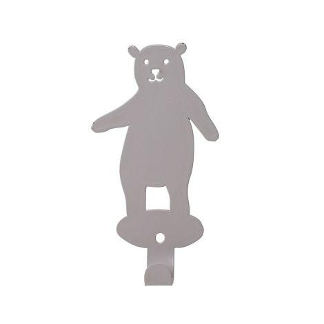 Bloomingville Wandhaken Bär Grey