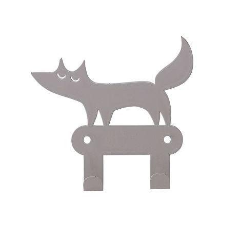 Bloomingville Wandhaken Fuchs Grey