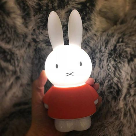 Charlie & Friends Mini Nachtlicht Miffy LED H 18cm