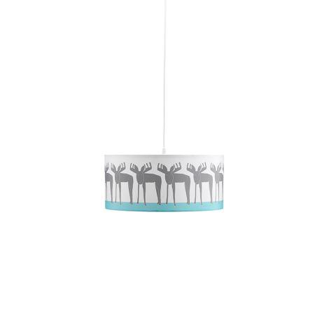 Kids Concept Deckenlampe Edvin Elch Weiß •