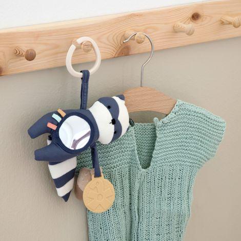 Sebra Aktivitätsspielzeug Rebel der Waschbär Bramble Blue