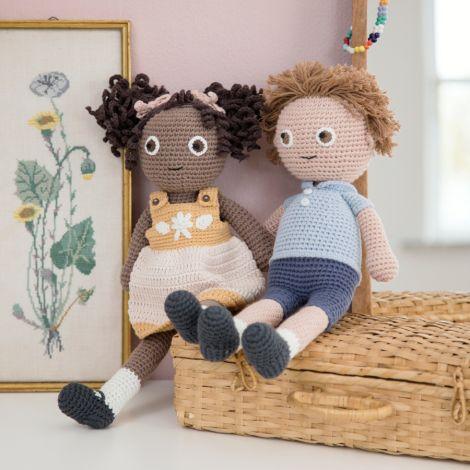 Sebra Häkel-Puppe William 40 cm