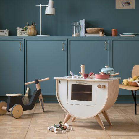 Sebra Spielküche Classic White mit Holz