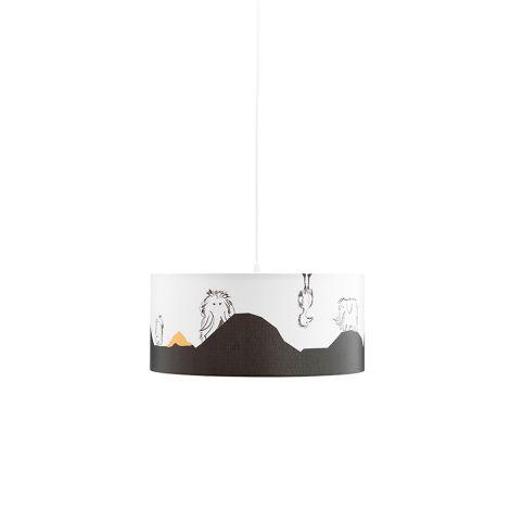 Kids Concept Deckenlampe NEO Weiß/Schwarz