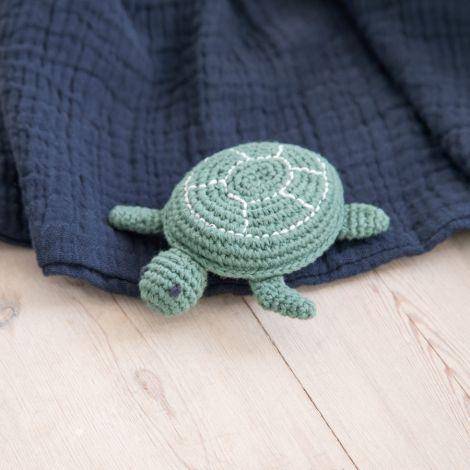 Sebra Häkel-Rassel Triton Schildkröte