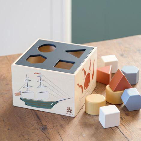 Sebra Formensteckspiel aus Holz Seven Seas