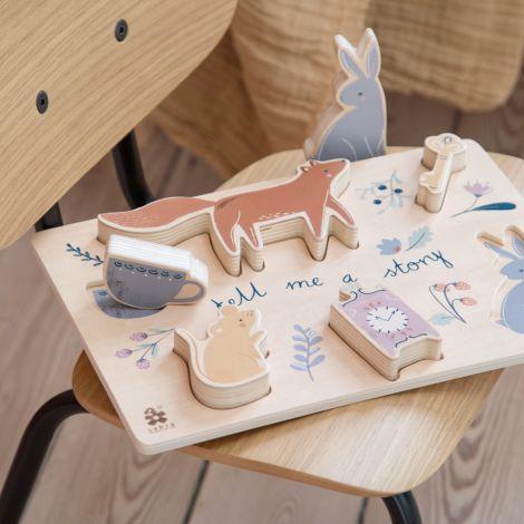 Sebra Puzzle aus Holz Daydream