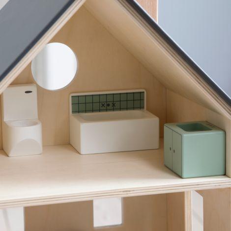 Sebra Badezimmer für das Sebra Puppenhaus