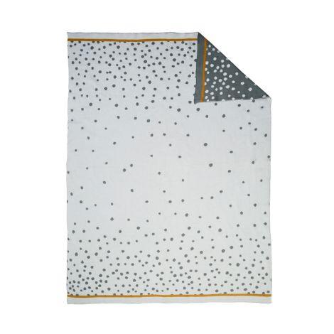 Done by Deer Decke Strick Happy Dots Grey