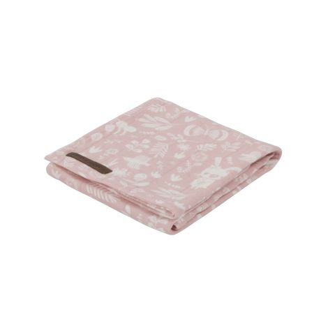 Little Dutch Swaddle Tuch 70x70 Adventure Pink 2er-Set