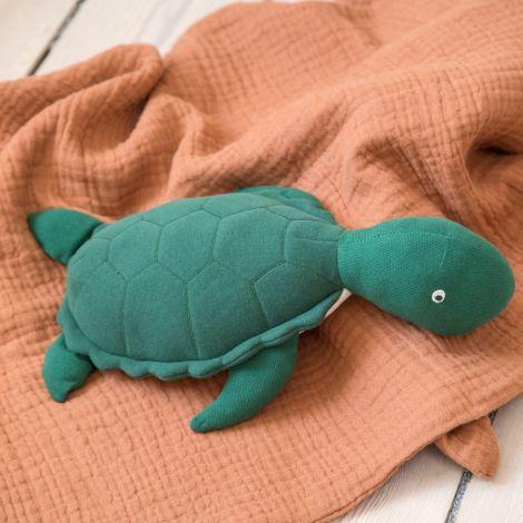 Sebra Stofftier Triton die Schildkröte Seaweed Green