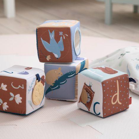 Sebra Babystoffblöcke Daydream 4-teilig