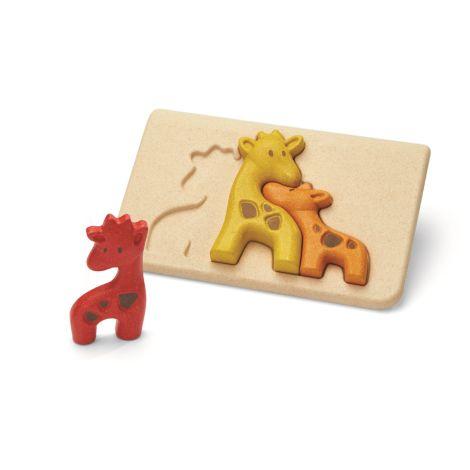 PlanToys Puzzle Giraffen •