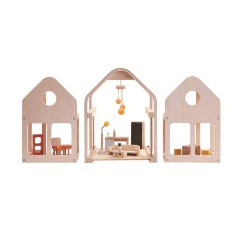 PlanToys Puppenhaus Slide N Go •
