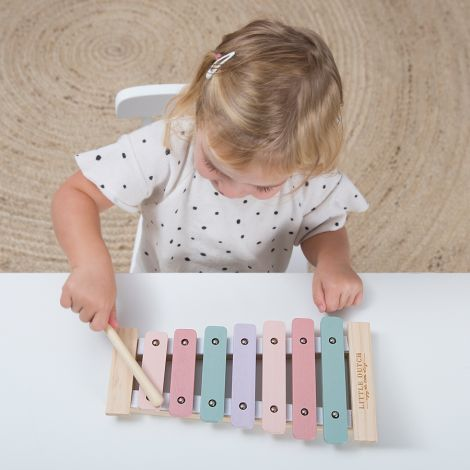 Little Dutch Xylophone Adventure Pink