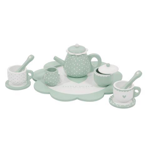 Little Dutch Holz-Tee-Set Mint