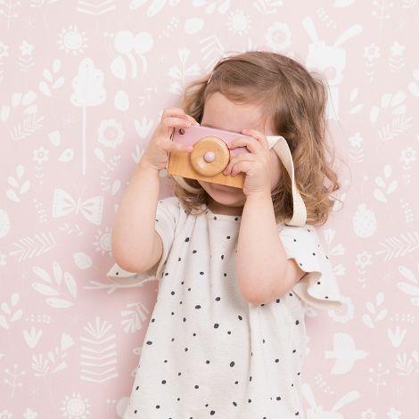 Little Dutch Holz-Kamera Adventure pink