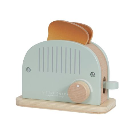 Little Dutch Holz Toaster Set 10-teilig