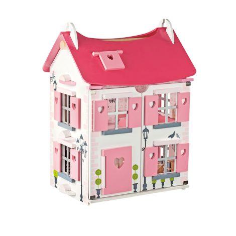 Janod Puppenhaus Mademoiselle mit Möbel