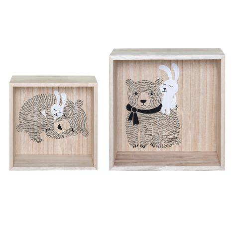Bloomingville Display Box Nature 2er-Set