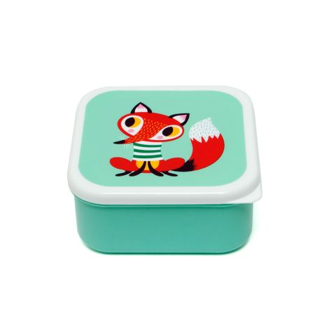 Petit Monkey Brotdose Lunchbox Set Tiere 3er-Set