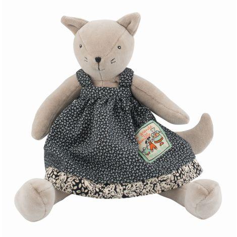 Moulin Roty Kuscheltier kleine Katze Agathe La Grande Famille 30 cm